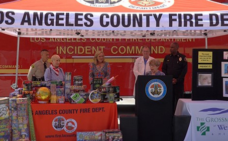 Experts Demonstrate Dangers Of Fireworks, Remind Residents They Are Illegal
