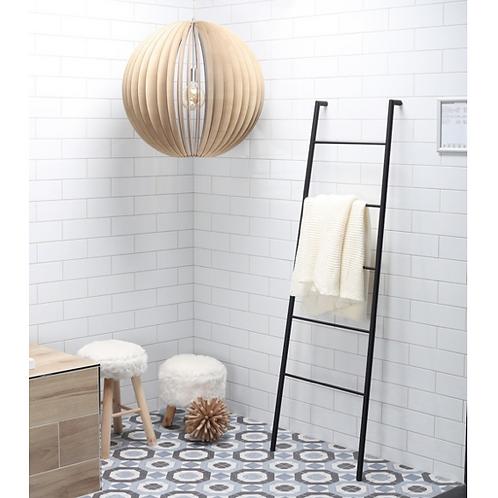 Towel Rack Black Matte Ladder