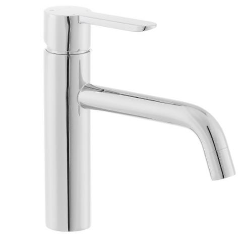 Short Angular Sink Faucet Chrome Optima Sofia