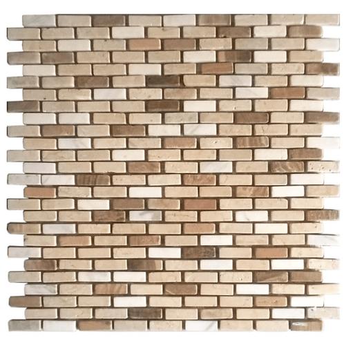 Stone mosaic Cream-White Brick