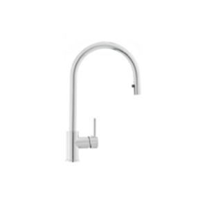 Sink Faucet with pull-out shower chrome