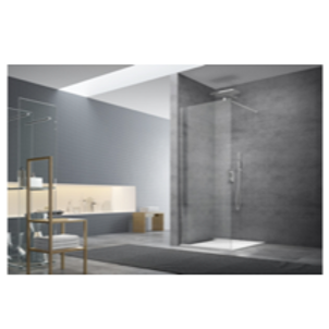 "Walk-in 117x200 (46""x79"") Shower Glass"