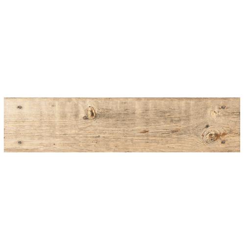 Oset Nail Wood Plank Beige Tile