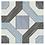 Thumbnail: Mare Nostrum Blue & Black Pattern Tile