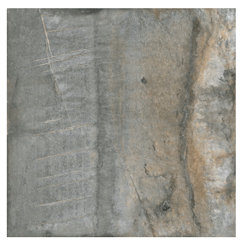 Distressed Grey Square Tile