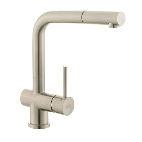 Angular Kitchen Sink Faucet Stainless Steel