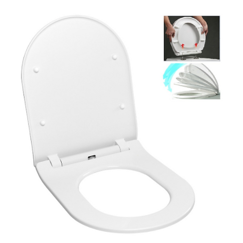EASY SLIM Toilet Seat, Soft-Close