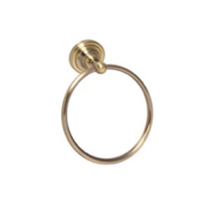 RICORDI: Gold Towel Ring