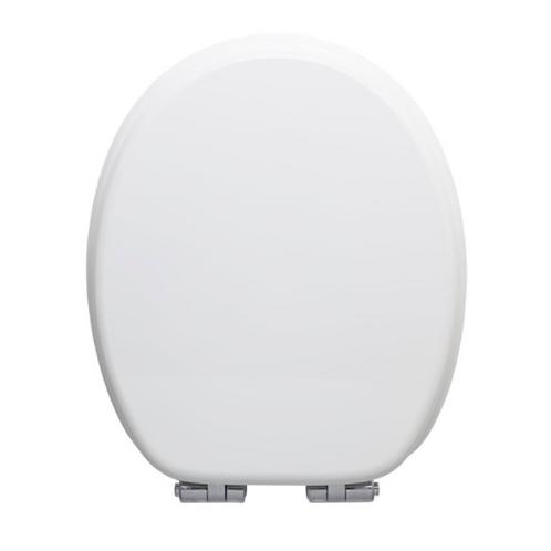 Toilet Seat soft-close MDF WHITE