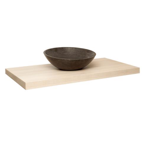 Natural Wood Vanity Shelf Large