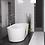 Thumbnail: Bathtub Faucet Round Floor Mounted Chrome