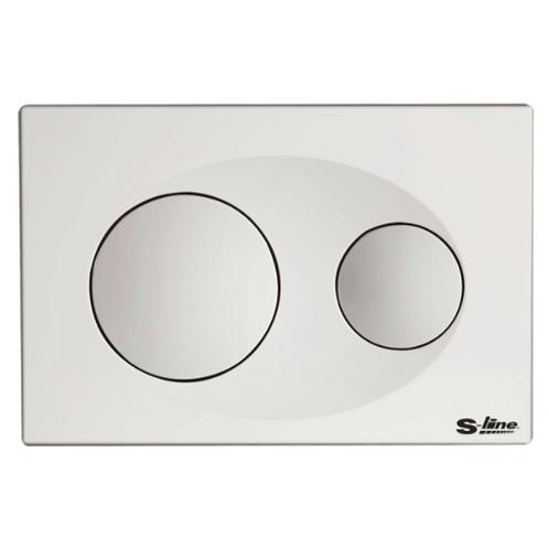 S-Line - White Toilet button