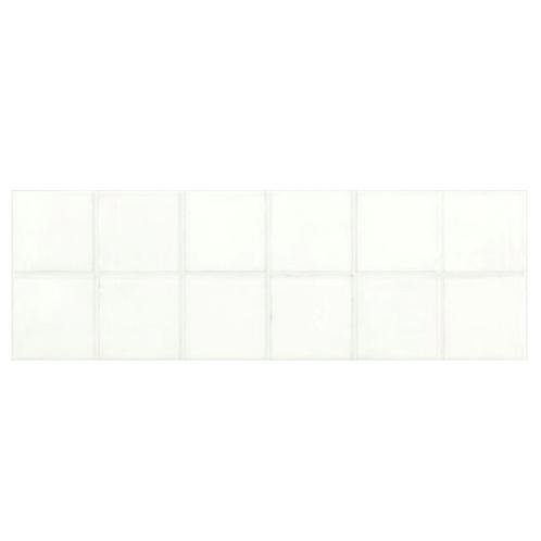 MAJOLIKA White Gloss Square Large MosaicTile