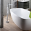 Thumbnail: Bathtub Faucet Angular Floor Mounted Chrome