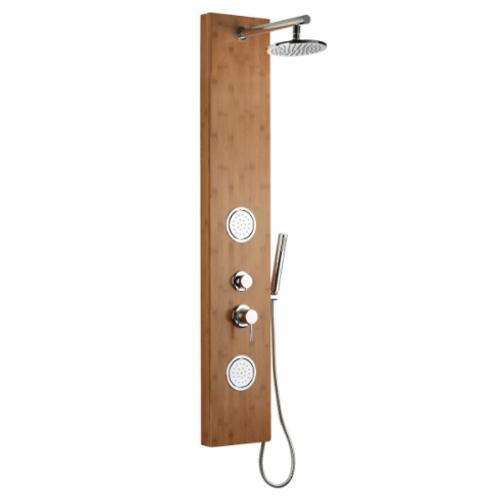 Wood External Shower
