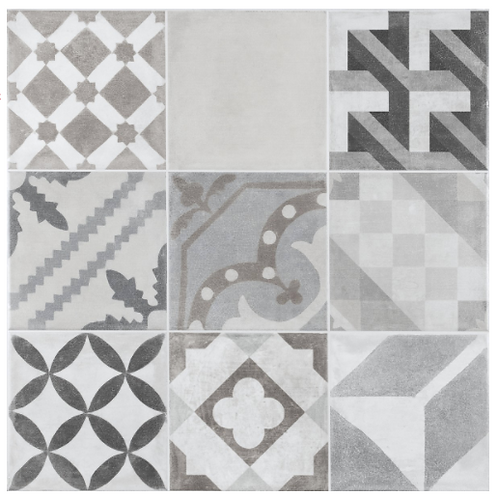 Grey Pattern Manises Tile