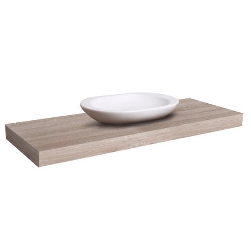 Light Wood Vanity Shelf Small