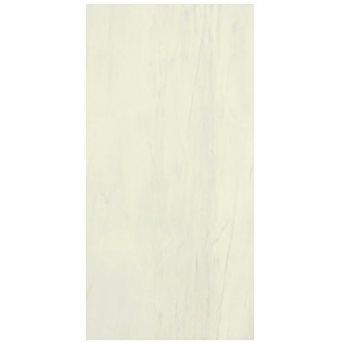 Gemme White Pattern Tile with Lip 60x120cm