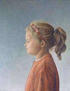 Iša Ondráček - Portretten - 'Katia'