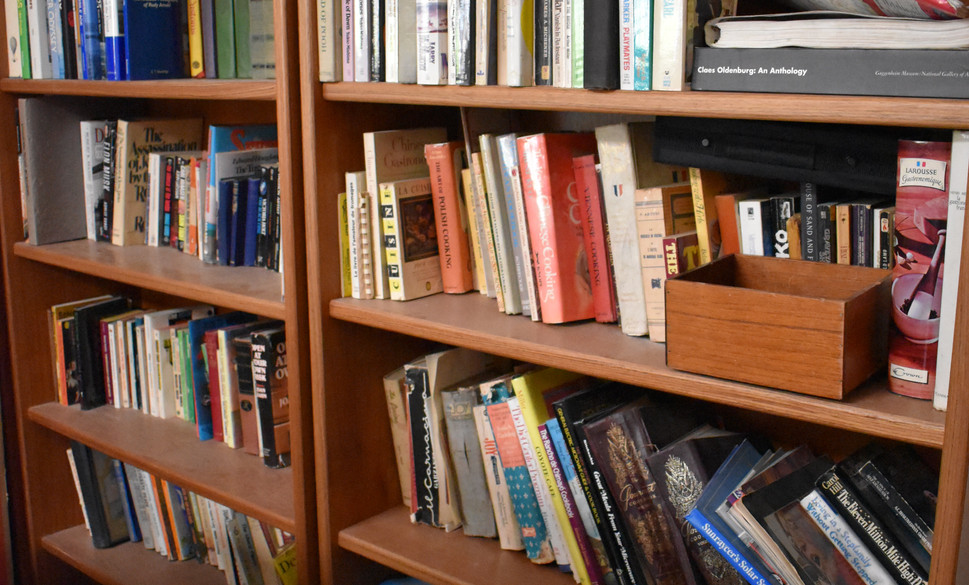 Just a fraction of all the books in the home!