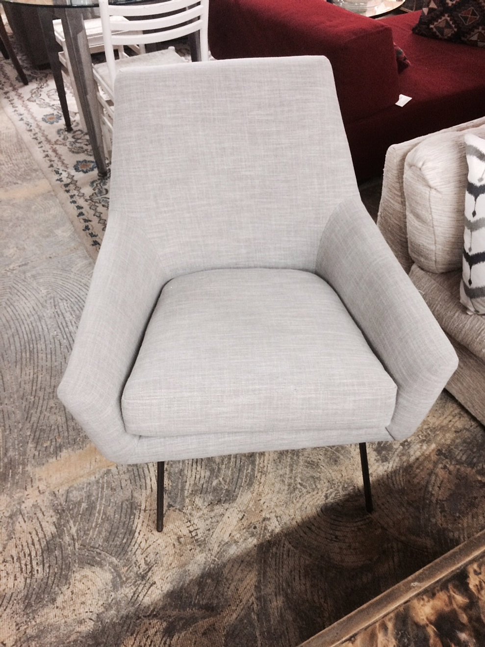 Furniture consignment stores in santa fe nm - West Elm Lucas Wire Chair