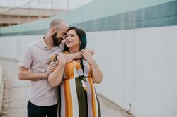 couple hugging pregnancy photos maternity photography los angeles california