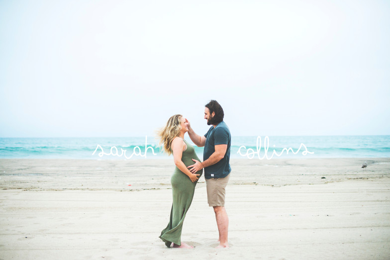 Sarah + Collins: Maternity Session