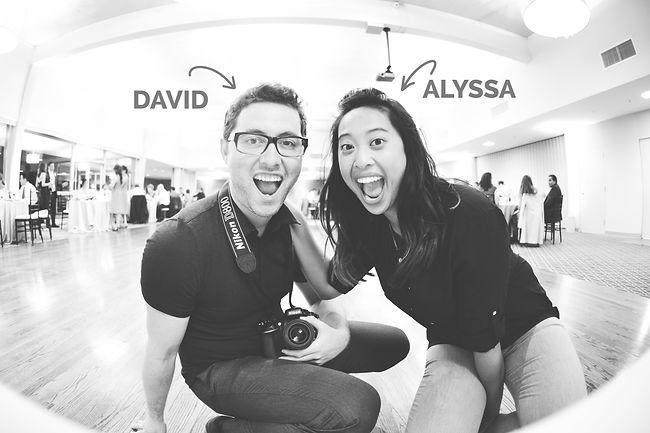 David Kearney and Alyssa Tembrina of Rose Colored Photography