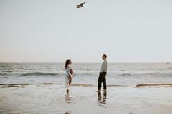 beach pregnancy photos maternity photography los angeles california