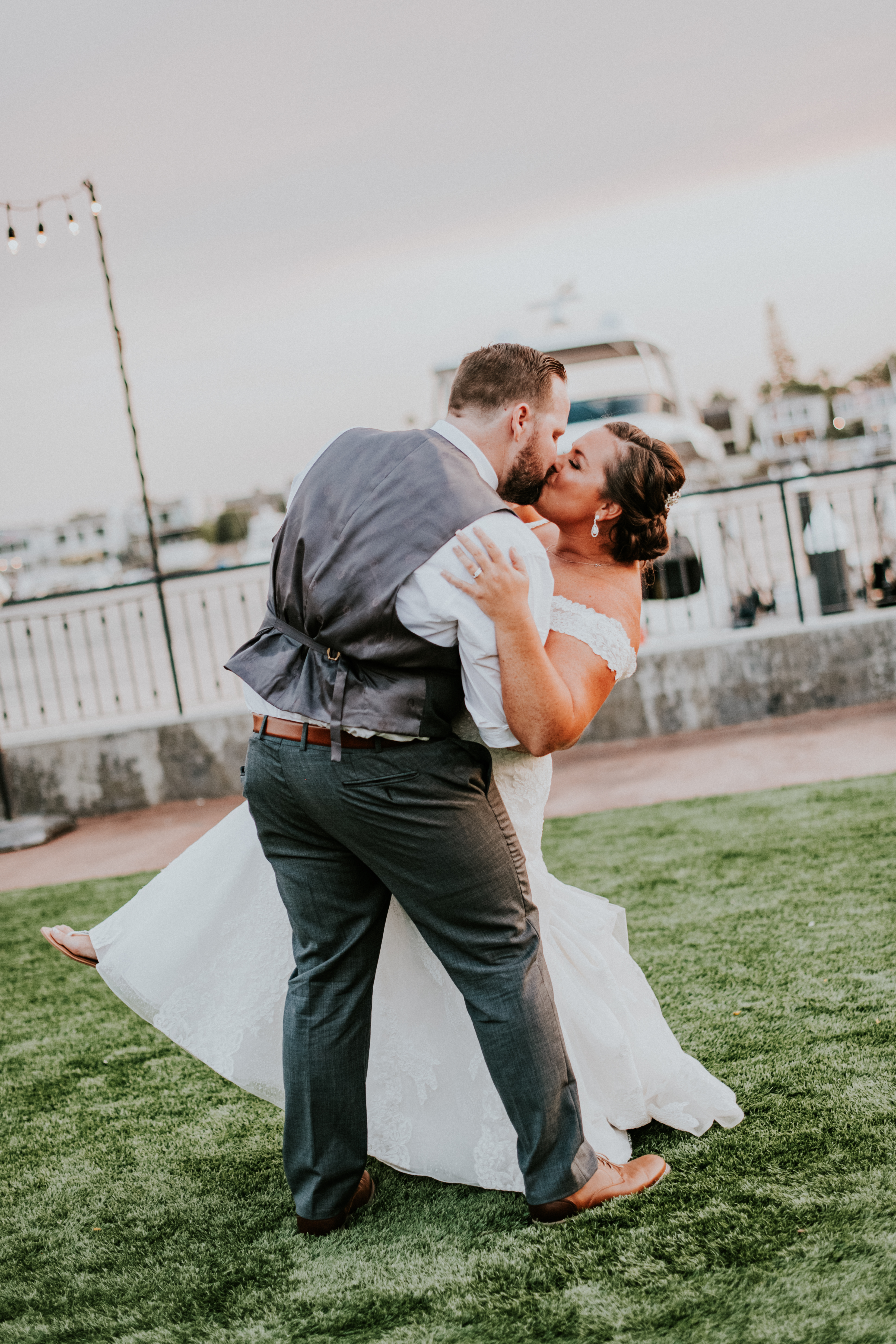 bride and groom first dance wedding day photography california wedding photographer