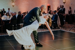 bride and groom first dance wedding day wedding photography the hollywood roosevelt los angeles