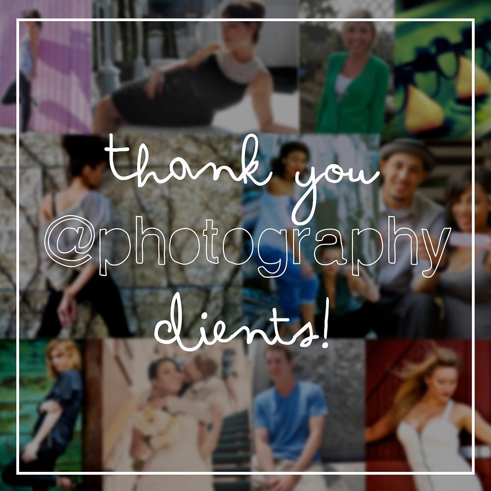 Thank you Alyssa Tembrina Photography Clients