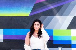 lifestyle content social media photography photo shoot graffiti wall los angeles