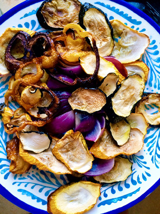 Veggie chips.