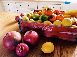 Citrus season.