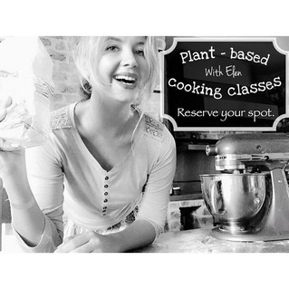 Plant-based cooking classes.