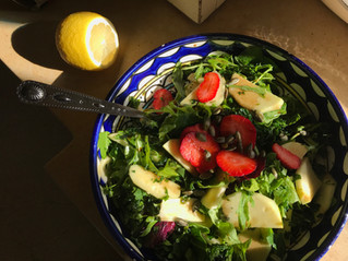 Winter Kale Salad.