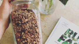 Simple Cinnamon Granola.
