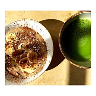 Amaranth porridge.