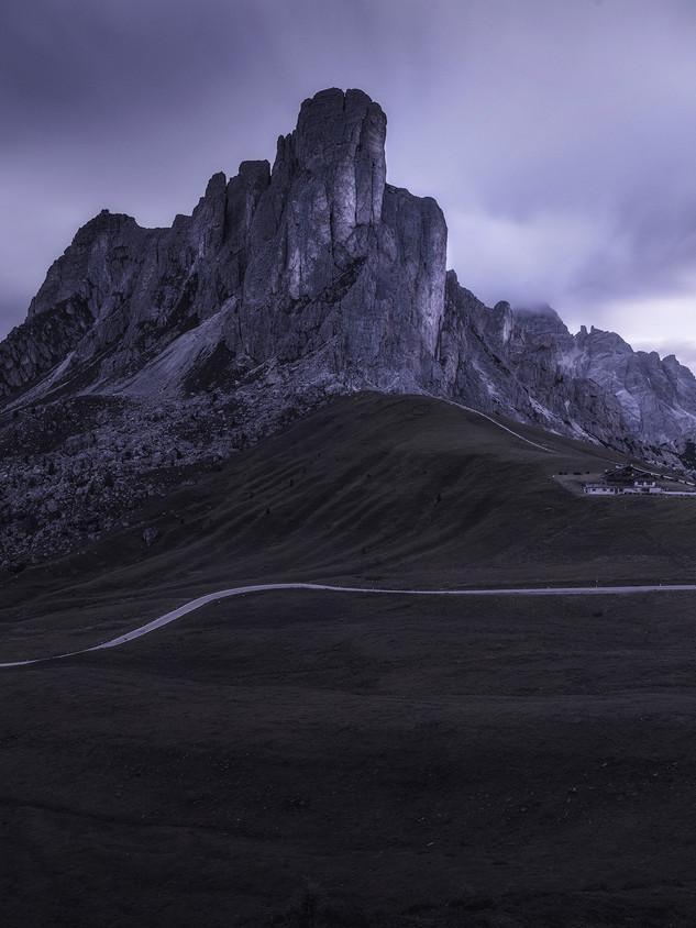 Italy - Dolomites, Dark Morning