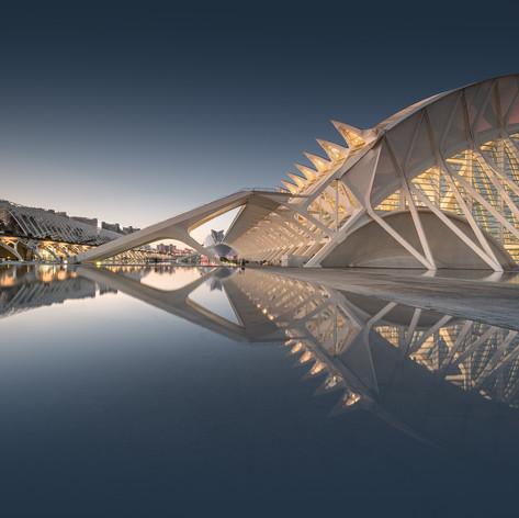 Spain - Valencia - City of Arts and Sciences