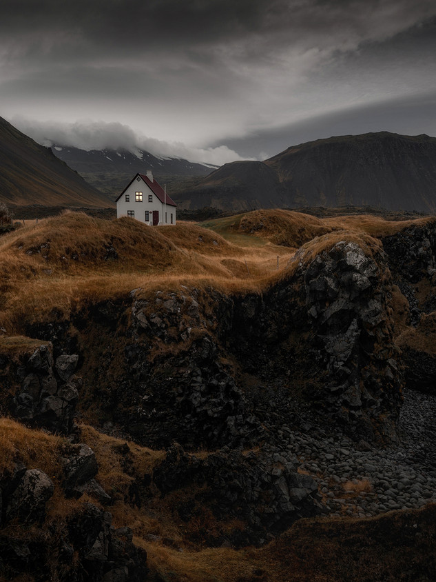 Iceland - The Coattage