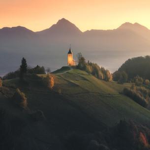 Slovenia - Jamnik Sunrise