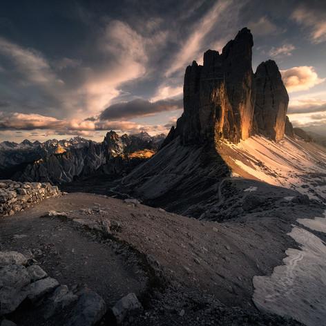 Italy - Dolomites, Forcella Lavaredo