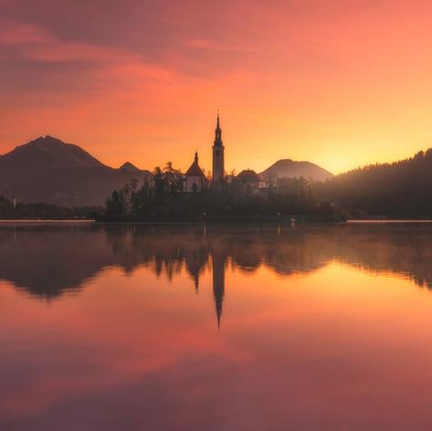 Slovenia - Bled Sunrise