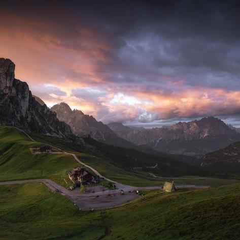 Italy - Dolomites - Giau Pass