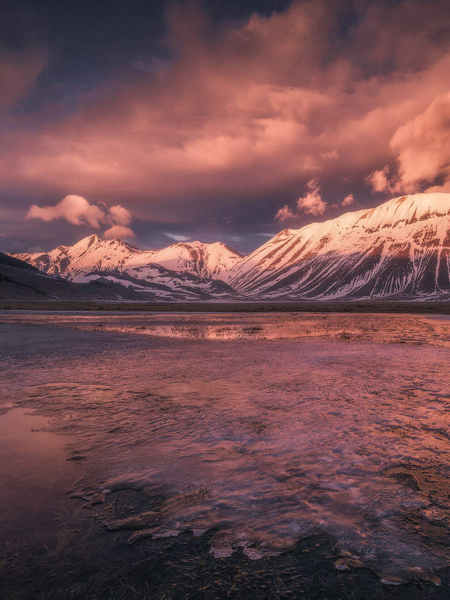 Italy - National Park of Sibillini Mountains - Fire and Ice