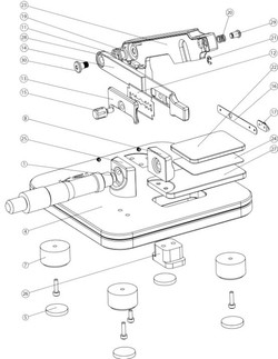 KSI Tissue Slicer - Assembly Drawing
