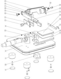 KSI Tissue Slicer - Assembly Drawing