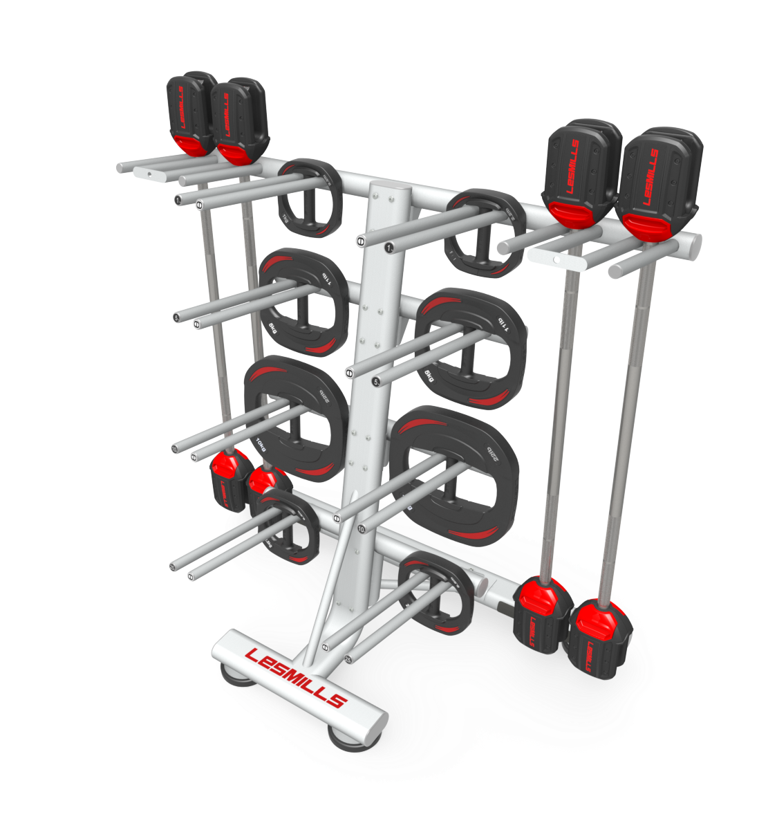 LMI Stacked Rack Rendering